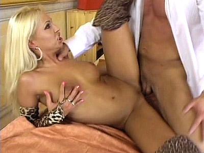 Hard Fucked Pornstar Adrianne Rouso